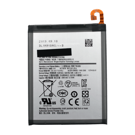 Battery for use with Galaxy A7 2018