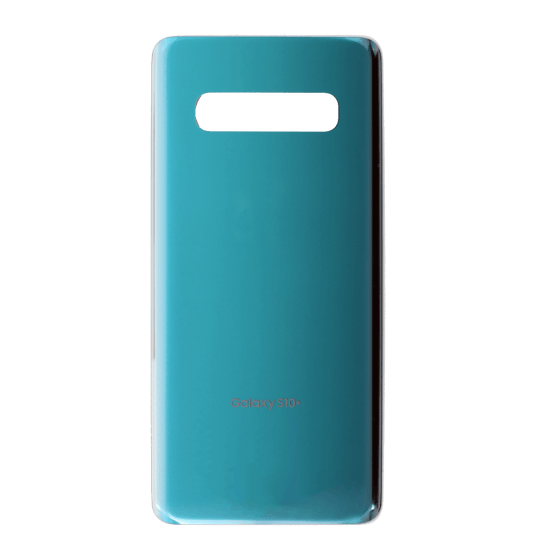 Back Glass for use with Galaxy S10 Plus (Prism Green)