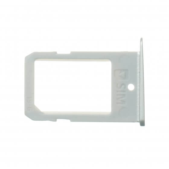 Sim Tray for use with Samsung Galaxy S6 Edge Plus SM-G928, Silver