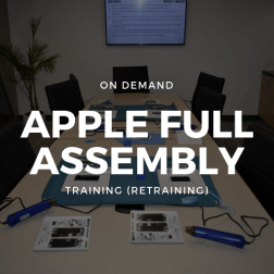 On Demand Apple Full Assembly Training (Retraining)