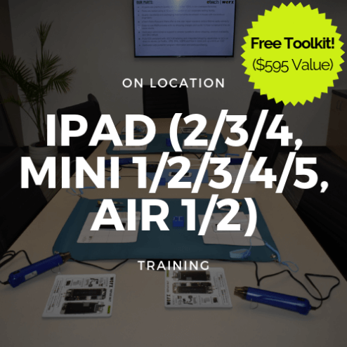 iPad(2,3,4,Mini1/2/3/4/5,Air/Air2)Trainng+Toolkit(Onlocation