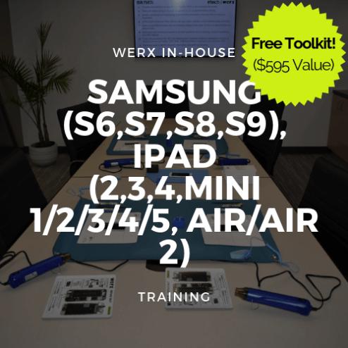 (S6,S7,S8,S9), iPad (2,3,4,Mini 1/2/3/4/5, Air/2) Training