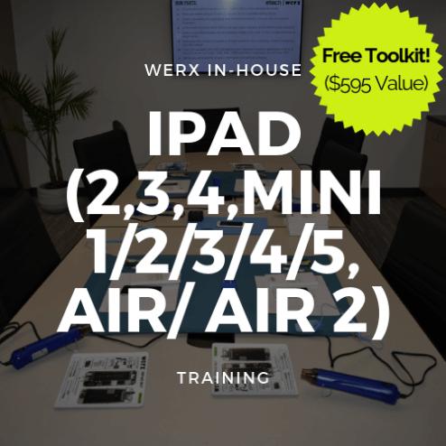 iPad (2,3,4,Mini 1/2/3/4/5, Air/ Air 2) Training + Toolkit