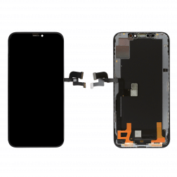 Platinum OLED Assembly for use with iPhone XS (Black)