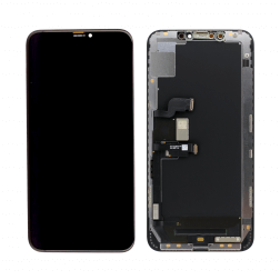 Platinum OLED Assembly for use with iPhone XS Max ( Black)