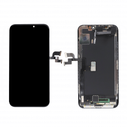 Platinum Plus OLED Full Assembly for use w/ iPhone X (Black)