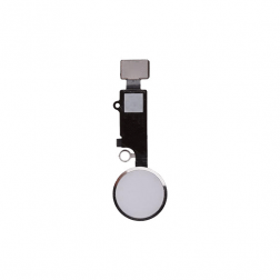 Home Button Flex Cable Assembly (White) for use with iPhone 8 Plus