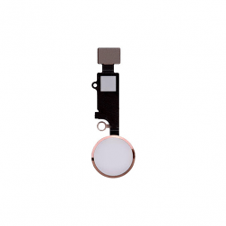 Home Button Flex Cable Assembly (Gold) for use with iPhone 8 Plus