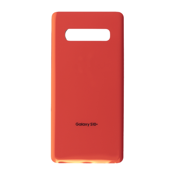 Back Glass for use with Galaxy S10 Plus (Flamingo Pink)