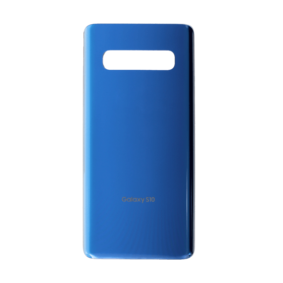 Back Glass for use with Galaxy S10 (Prism Blue)
