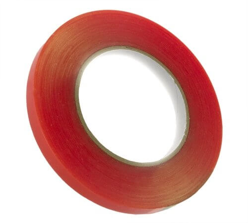 12mm (1/2) x 36yd Red Tape Adhesive