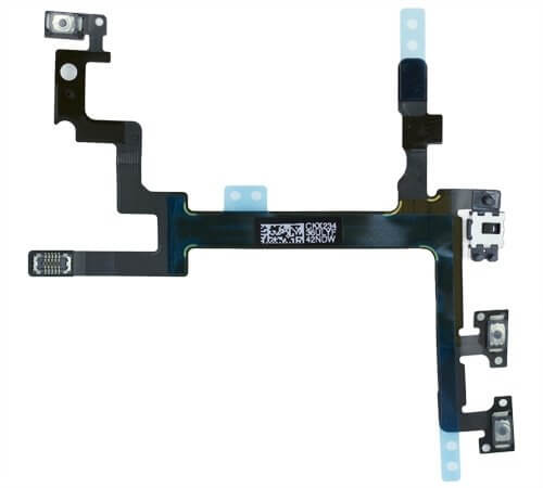 Power & Volume Control Flex Cable for use with iPhone 5