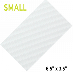 ProtectionPro - Small White Carbon Fiber (Blank)