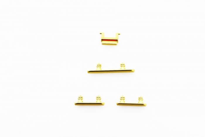 Side Buttons for use with iPhone 11 (Yellow)