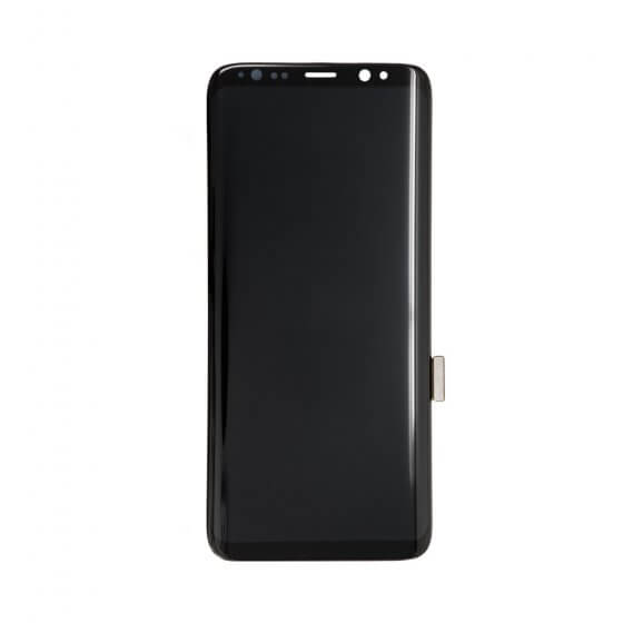 LCD & Digitizer Assembly (without frame) for use with Samsung Galaxy S8 (Black)