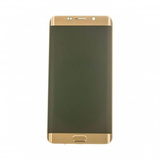 LCD & Digitizer Assembly for use with Samsung Galaxy S6 Edge Plus SM-G928P, Gold (Sprint)
