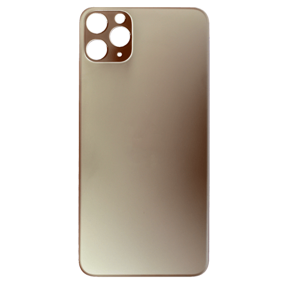 Back Glass (No Logo) for use with iPhone 11 Pro Max (Gold)