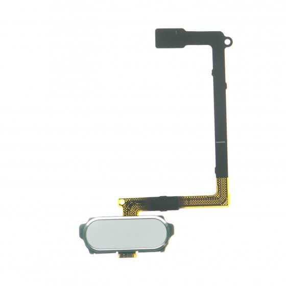 Home Button Flex Cable for use with Samsung Galaxy S6 G920, White