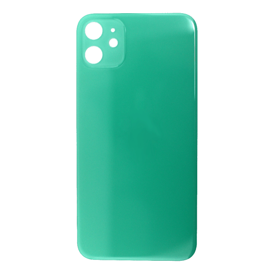 Back Glass (No Logo) for use with iPhone 11 (Green)