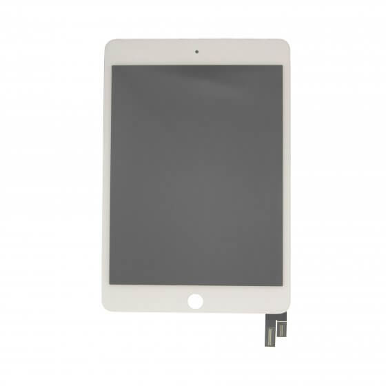 LCD Screen and Digitizer Assembly, White, for use with iPad Mini 4