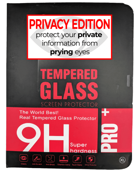 Premium Privacy Tempered Glass for use with iPad 2/3/4 (Retail Pack)