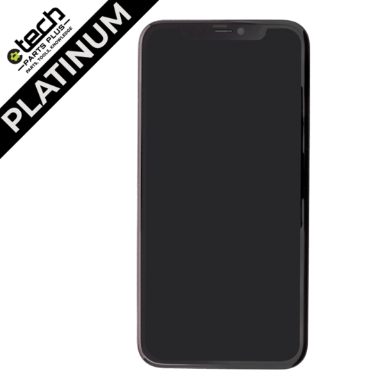 Platinum LCD Assembly for use with iPhone 11 (Black)
