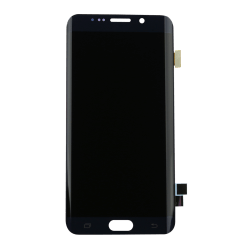 LCD & Digitizer Assembly for use with Samsung Galaxy S6 Edge Plus SM-G928P, Black (Sprint)