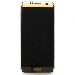 LCD & Digitizer Assembly for use with Samsung Galaxy S7 Edge SM-G935 Gold