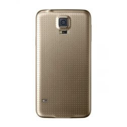 Rear Housing for use with Samsung Galaxy S5 SM-G900, Gold (OEM)