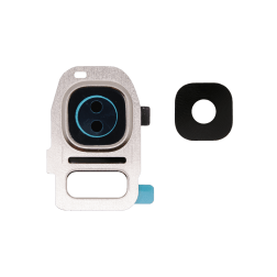 Rear Camera Holder with Lens for use with Samsung Galaxy S6 G920, Gold