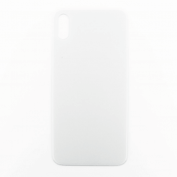 Back cover glass for use with iPhone X (White)