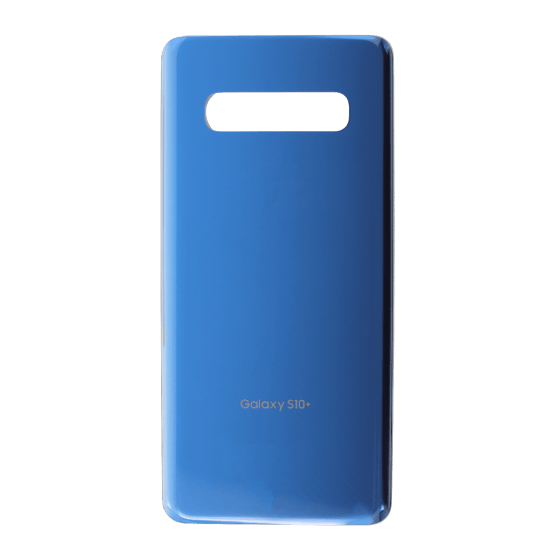 Back Glass for use with Galaxy S10 Plus (Prism Blue)