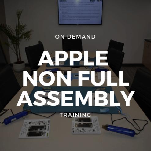 On Demand Apple Non Full Assembly Training