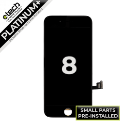 Platinum Plus LCD Assembly for use with iPhone 8 (Black)