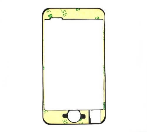 Glass Panel Frame Assembly for use with iPod Touch Gen 2 and 8gb Gen 3