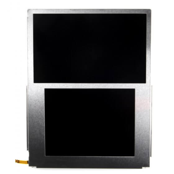 Top and Bottom LCD Screen Assembly for use with Nintendo 2DS