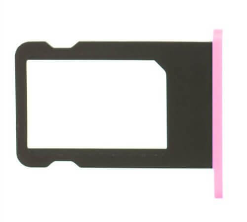 Sim tray for use with iPhone 5C (Pink)