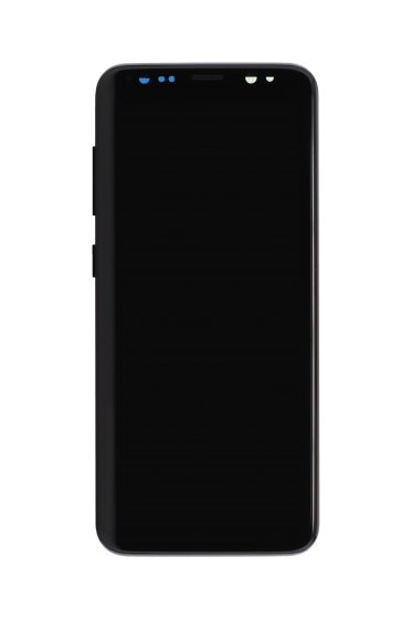 LCD & Digitizer assembly (with frame) for use with Samsung S8 (Midnight Black)