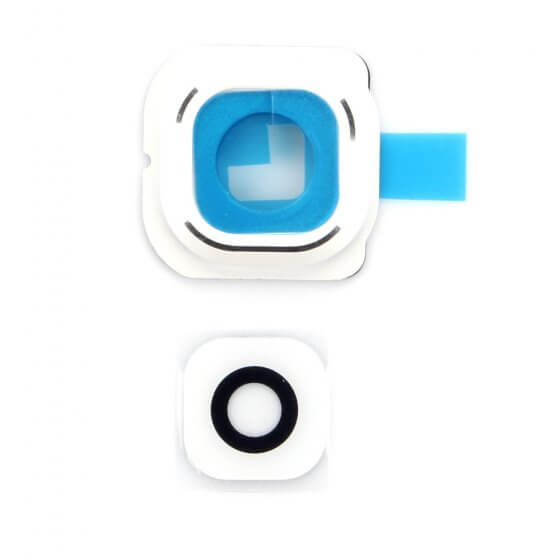 Back Camera Lens for use with Galaxy S6 Edge (White)