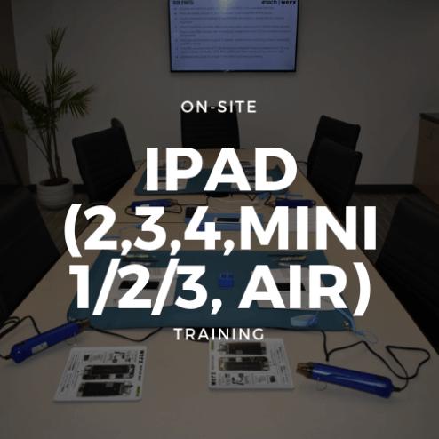 iPad (2,3,4,Mini 1/2/3, Air) Training