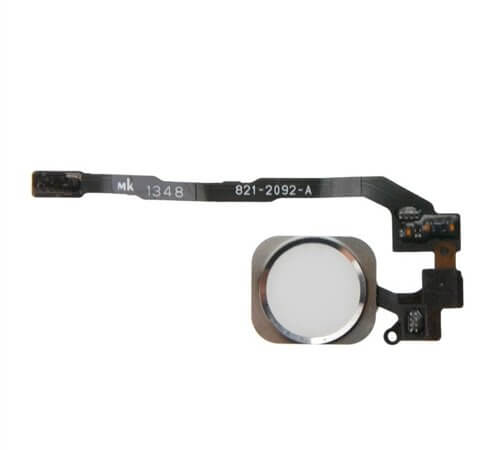 Home Button Flex Cable for use with the iPhone 5S, Silver