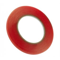 "6mm (1/4"") x 36yd Red Tape Adhesive"