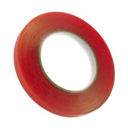 "12mm (1/2"") x 36yd Red Tape Adhesive"