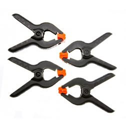 Set of 4 Spring Clamps, 4""