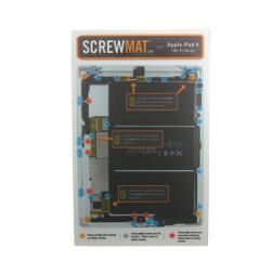 ScrewMat for use with iPad 4 Wifi