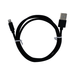 Braided Lightning Cable (4ft) (Black)