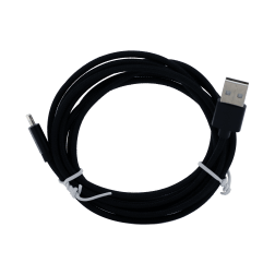 Braided Lightning Cable (6ft) (Black)