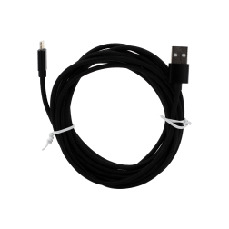 Braided Lightning Cable (10ft) (Black)