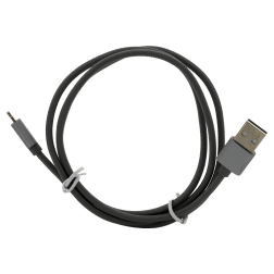 Braided Lightning Cable (4ft) (Grey)