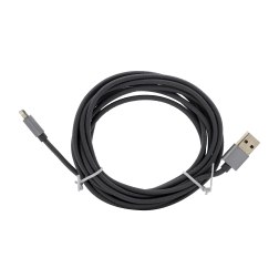 Braided Lightning Cable (10ft) (Grey)